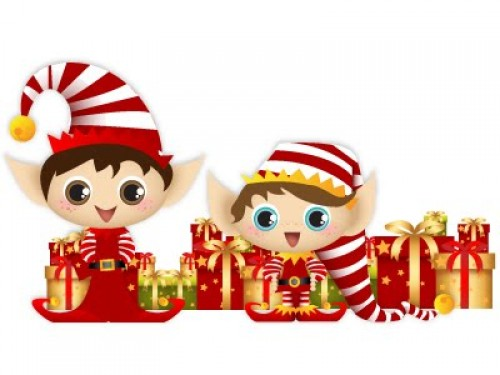 duendes e1355678984985 imágenes tiernas de duendecillos navideños