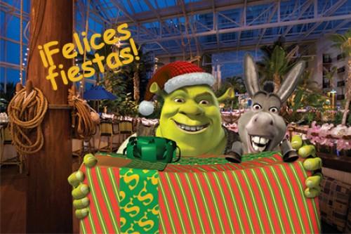 felices fiestas shrek e1356192973538 Imágenes bonitas de Shrek en Navidad