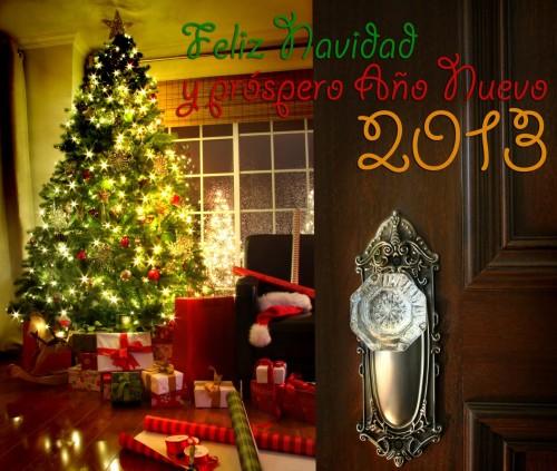 feliz navidad y prospero año nuevo 2013 merry christmas and happy new year 2 e1356787907890 Imágenes de Feliz año nuevo 2013