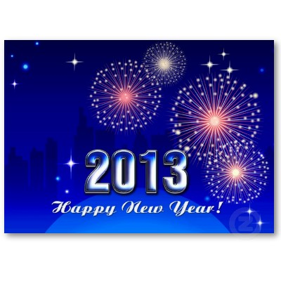 feliz ano nuevo 2013 pequeno calendario 2013 tarjeta  negocio p240004573844577976b2o3q 400 Postales de Feliz año nuevo 2013