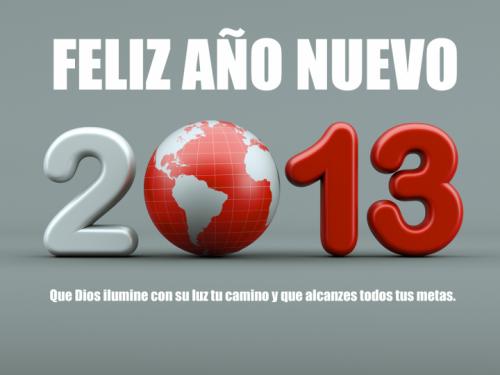 imagenes postales y tarjetas de año nuevo 2013 con mensaje fondos y wallpapers 11 720x540 e1356789068436 Postales de Feliz año nuevo 2013