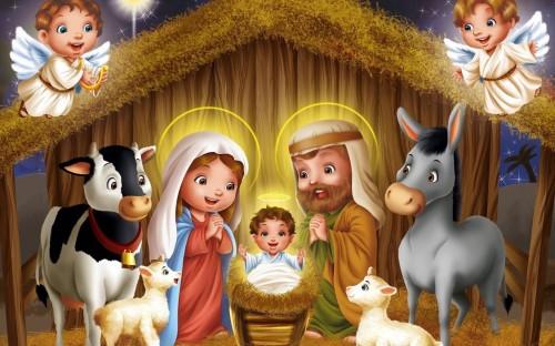 nacimiento de jesus2 e1356443693526 Imágenes tiernas del niño Dios