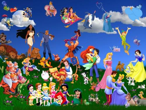 personajes de disney e1354887922872 Imágenes tiernas de los personajes de Disney