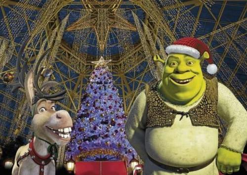 shrek en naidad e1356192877823 Imágenes bonitas de Shrek en Navidad