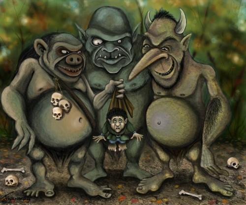 trolls2 e1356530264823 Imágenes bonitas de Hobbits