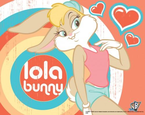 wallpapers lola bunny 01 1280 e1355846539383 Imágenes tiernas de Lola Bunny