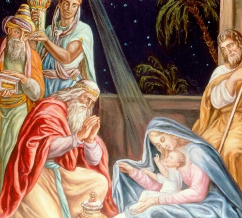 Baby Jesus and the Three Kings 600x450 500x450 Los Reyes Magos   Melchor, Gaspar y Baltasar   6 de Enero 2013   125 imagenes