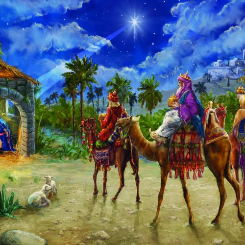 Three Kings reyes magos