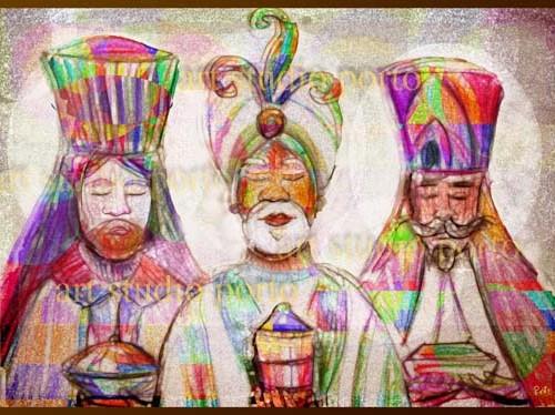 Tres Reyes magos 2013 500x374 Los Reyes Magos   Melchor, Gaspar y Baltasar   6 de Enero 2013   125 imagenes