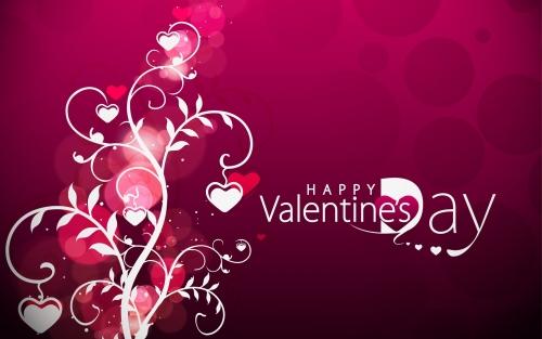 Vector Valentine s Day hearts 1920x1200 Corazones de San Valentín