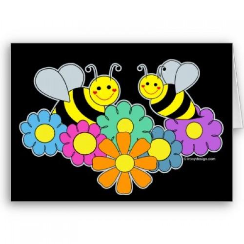 abejas y flores tarjeta p137659037625684991b21fb 400 e1359537388329 Imágenes Bonitas de Abejas y Flores