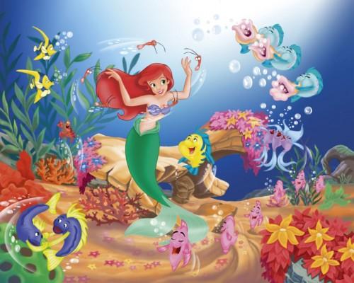 ariel y sus amigos del mar e1359398185560 Imágenes Bonitas de Ariel la Sirenita