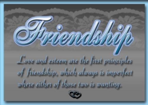 friendship card 4 Imágenes de amistad con mensajes en inglés