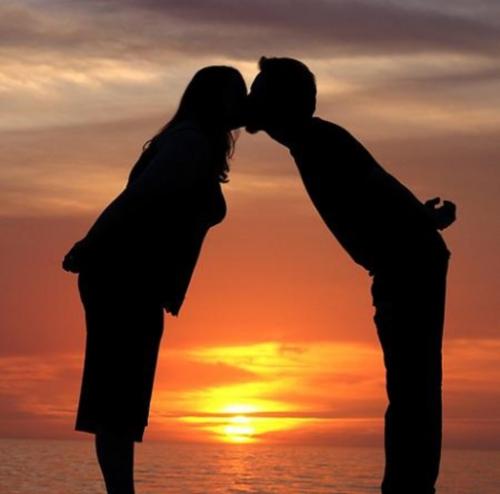 imagenes romanticas de parejas en el mar Imágenes de paisajes románticos