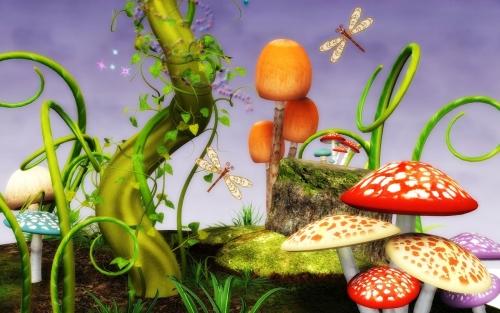 la fantasia en 3d llega a tu monitor con este fascinante wallpaper de las tierras magicas  Imágenes lindas de Fantasía en 3D