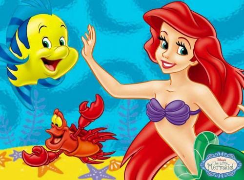 la sirenita ariel1 e1359398262973 Imágenes Bonitas de Ariel la Sirenita