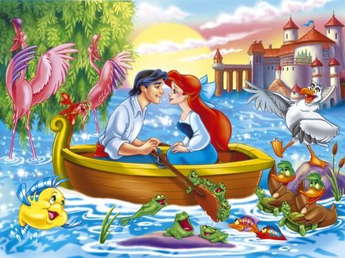 la sirenita y el principe eric e1359398433516 Imágenes Bonitas de Ariel la Sirenita