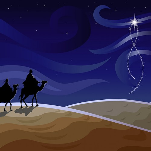 reyes magos en la noche 500x500 Los Reyes Magos   Melchor, Gaspar y Baltasar   6 de Enero 2013   125 imagenes