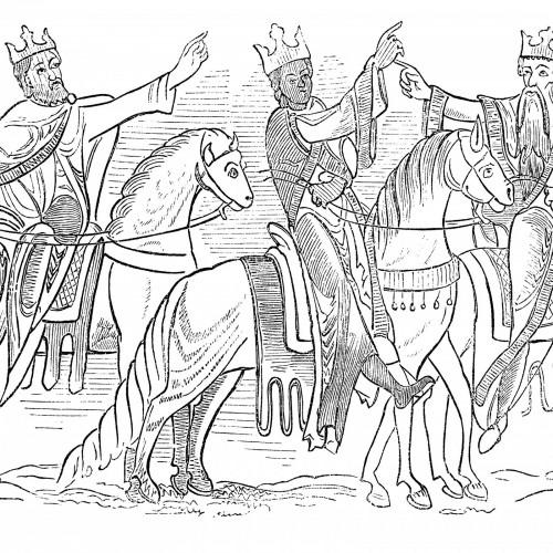 reyes magos para colorear 500x500 Los Reyes Magos   Melchor, Gaspar y Baltasar   6 de Enero 2013   125 imagenes