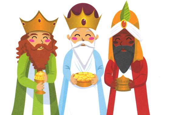 reyes magos 2013 facebook