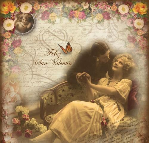 san valentín vintage copia e1359472902111 Feliz San Valentín   Día de los enamorados   14 de Febrero