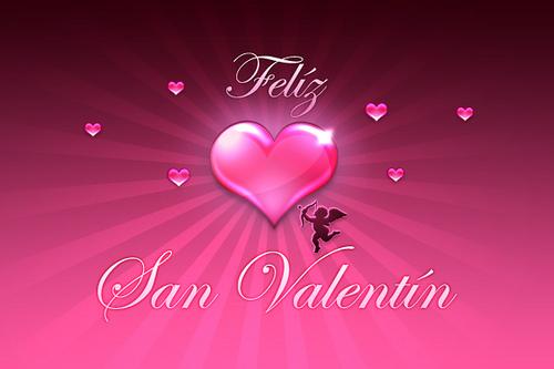 Feliz San Valentín   Día de los enamorados   14 de Febrero