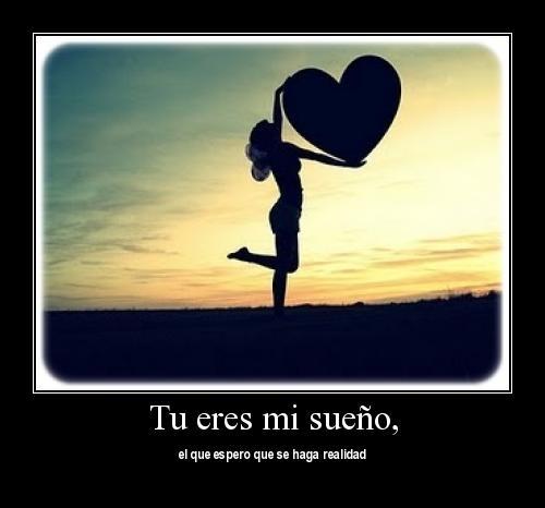 Mi sueño eres tu