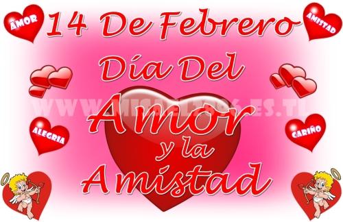 14 de febrero dia de san valentin dia del amor y la amistad Imágenes de amor con mensajes para el día de los enamorados
