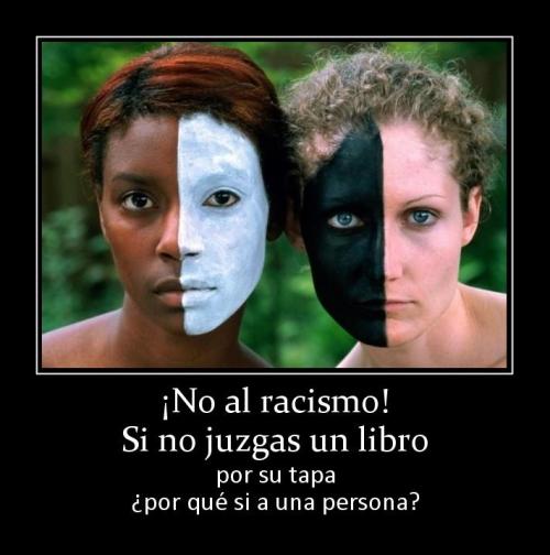 6711 no al racismo si no juzgas un libro Di No al Racismo