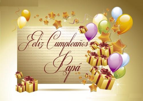 FELIZ CUMPLEAÑOS PAPÁ IMAGENES PARA ETIQUETAR EN FACEBOOK e1360600853389 Postales para desear Feliz Cumpleaños Papa