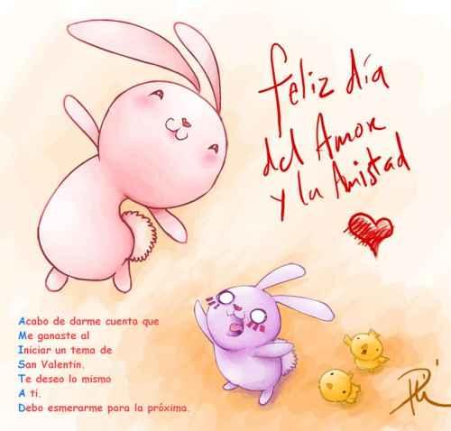 Feliz dia del amor y la amistad Imágenes del día del amor y la amistad