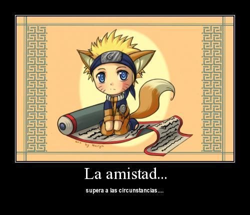 Naruto  CHibi Kitsu Naruto by Nacrym Imágenes Anime para Compartir en el Dia de la Amistad
