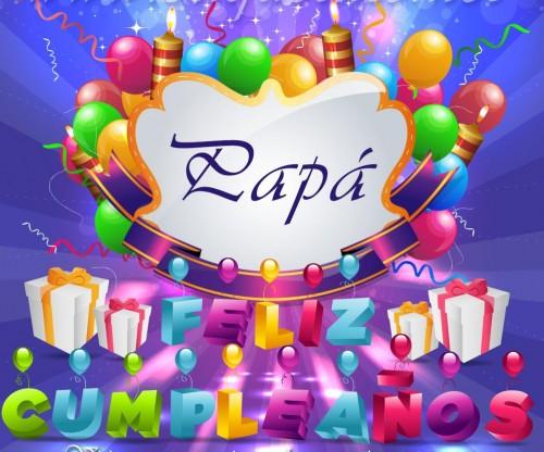 Papá Feliz Cumpleaños Imagenes para etiquetar y Compartir e1360601000496 Postales para desear Feliz Cumpleaños Papa