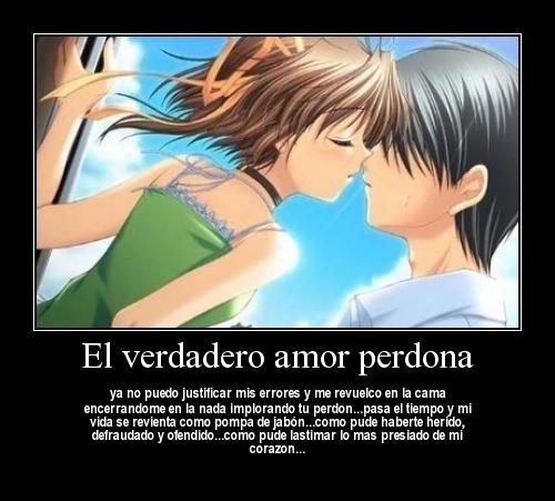 anime love El Verdadero Amor Perdona