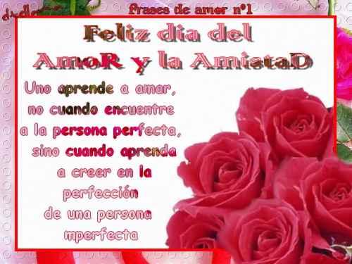 carta dia amor amistad Imágenes del día del amor y la amistad
