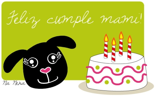 cumple Tarjetas para desear Feliz Cumpleaños Mama