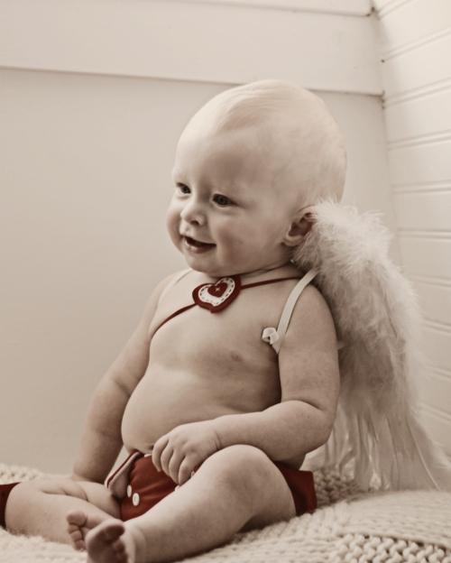 cupid Imágenes Bonitas de Bebes con disfraces de Cupido