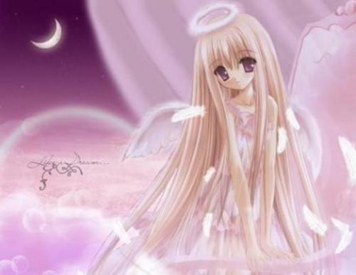 dibujos de angeles Imágenes Bonitas de Ángeles Anime