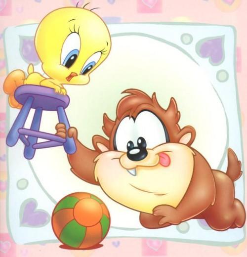 disney graphics baby looney toons 042804 e1362038664834 Imágenes Tiernas de Looney Tunes Bebes