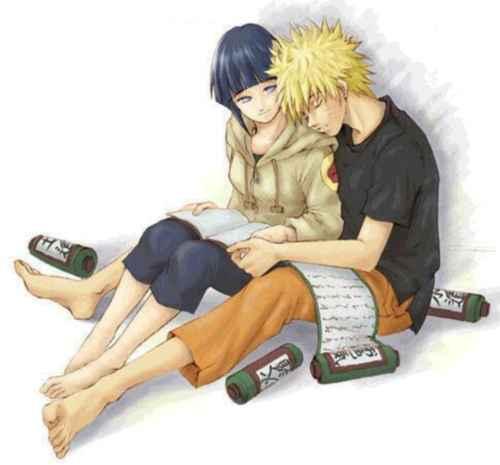 Naruto y Ginata