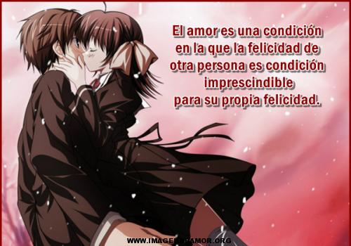 imagenes de amor anime Postales Anime de Amor