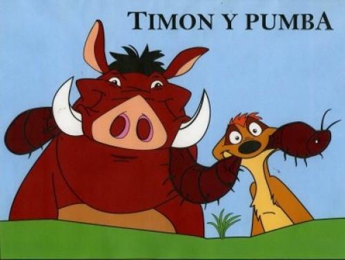 Imágenes de Amistad de Timón y Pumba (Imagenes para Facebook)