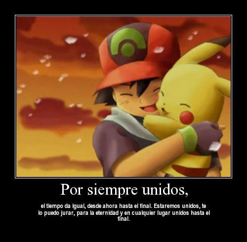 Ash and pikachu 1 Unidos por Siempre