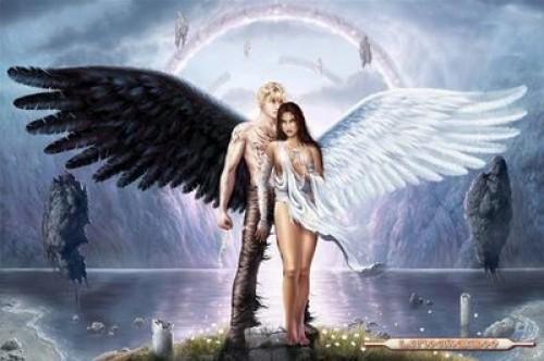 angeles enamorados2 e1362495194775 Imágenes Románticas de Angeles Enamorados
