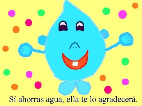 dibujogotadeagua 01 22 de Marzo Día Mundial del Agua