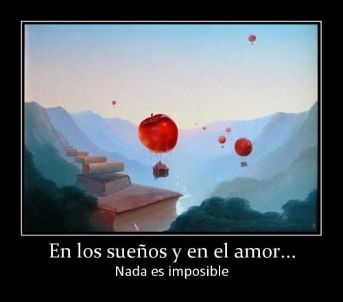 7616 en los suenos y en el amor Nada Es Imposible