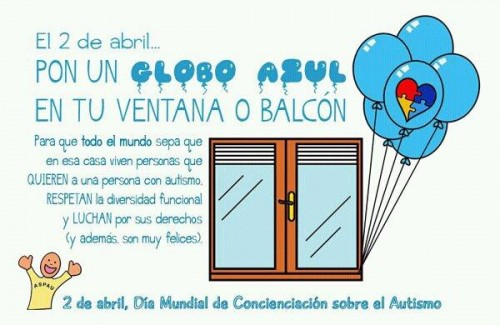 2 de Abril Día Mundial de Concientización del Autismo (Imagenes para Facebook)