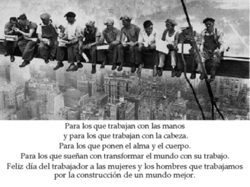 Dia+del+trabajador 1ro de Mayo Día Internacional de los Trabajadores