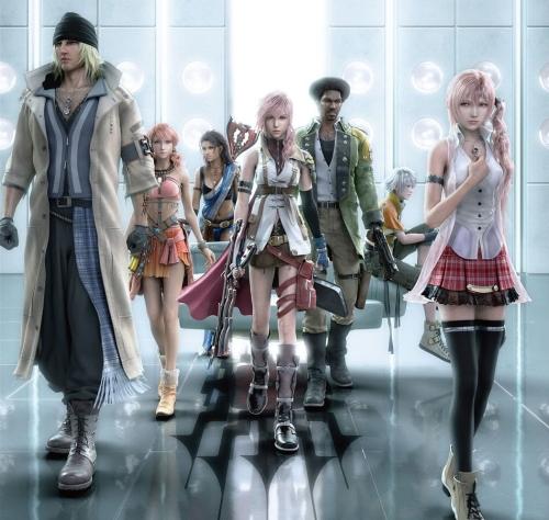 FinalFantasyXIIICharacters2 Imágenes Bonitas de Final Fantasy