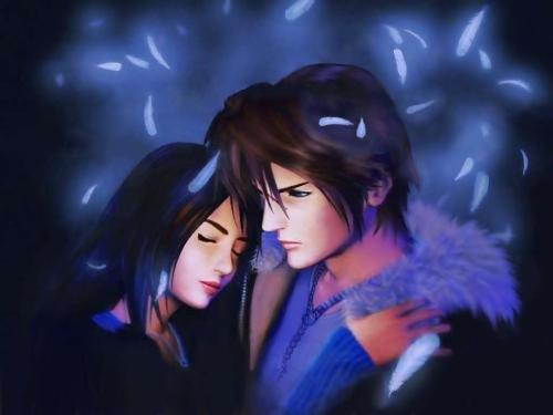 SquallRinoa Imágenes Bonitas de Final Fantasy